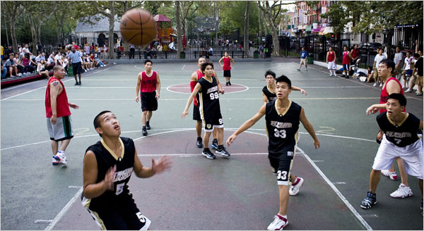 clip art kids playing basketball