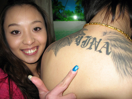 Take for example one of the famously popular lettering tattoos come