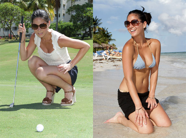 8a olivia Olivia Munn Golf Pictures Have LPGA Golfers Panties In A Bunch