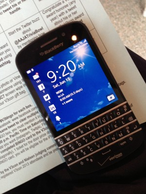 Product Review: Blackberry Q10 with Verizon Wireless + V3con 2013 Wrap Up