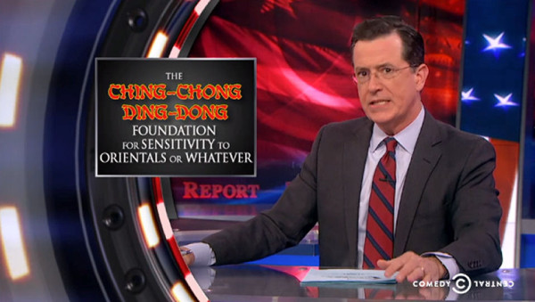 8Asians screenshot Colbert 600x339 Ill Take Fear: The #CancelColbert Response to Mainstream Medias Racism