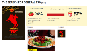 'The Search for General Tso' Now Available on Netflix