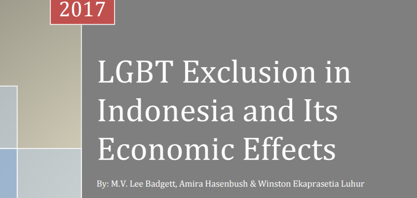 Discrimination Against LGBT People Could Cost Indonesia Almost $12B USD a Year
