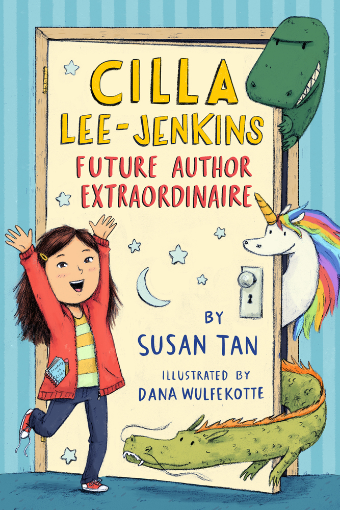 "8Books Review: ""Cilla Lee-Jenkins: Future Author Extraordinaire"" by Susan Tan"