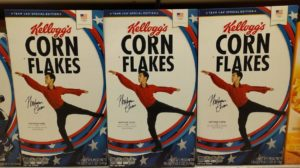 Let CHENSANITY Begin - Nathan Chen Makes the Cover of Kellogg's Corn Flakes